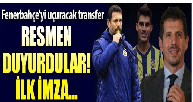 Fenerbahçe'den ilk transfer! Resmen duyurdular...