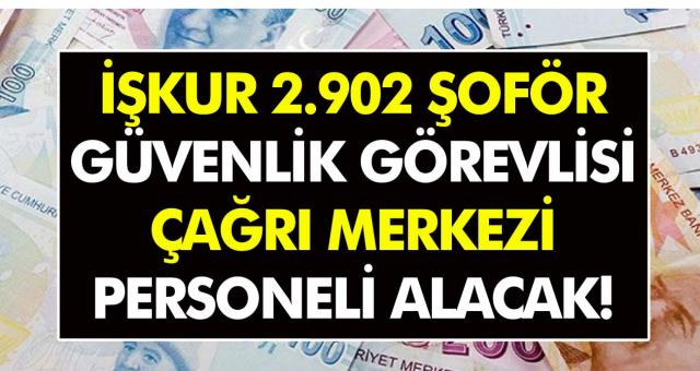 Türkiye İş Kurumu Çağrı Merkezi Personeli ve Güvenlik Görevlisi Alacak