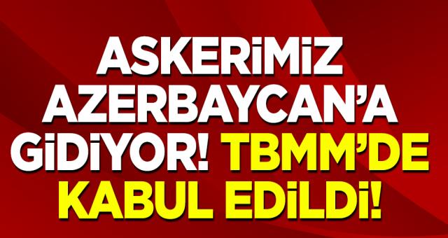 Mehmetçik Kardeş Ülke Azerbaycan'a gidiyor