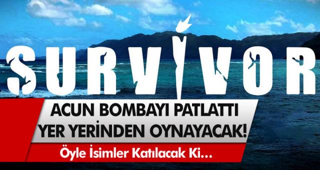 Acun Ilıcalı Survivor 2021 İçin Resmen Bombayı Patlattı! Öyle İsimler Katılacak Ki Yer Yerinden Oynayacak!