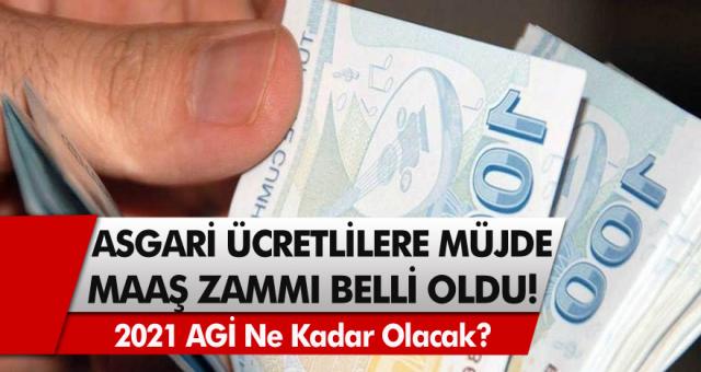 Asgari ücretlilere müjde! Milyonlarca çalışan vatandaşı sevindiren haber geldi,asgari ücret maaş zammı belli oldu…
