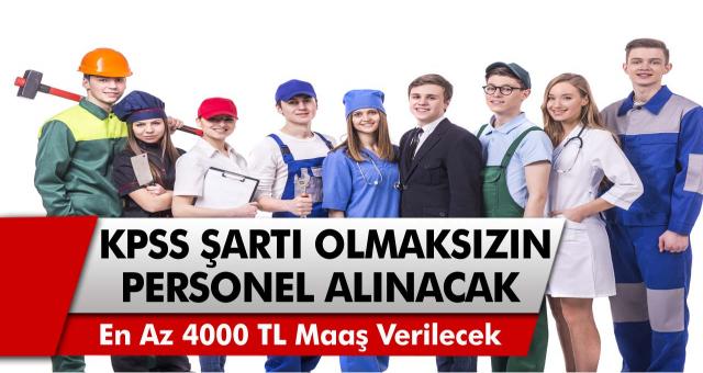 İŞKUR, Birçok Şehirde 4000-5000 TL ile Çalışacak Personel Alımı İlanını Yayımladı!