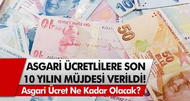 Asgari ücretlilere son 10 yılın müjdesi verildi! Asgari ücret ne kadar olacak, zam teklifleri ne kadar? Asgari ücrette ocak ayı zammı…