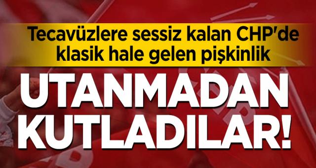 Hergün bir tecavüz olayıyla çalkalanan CHP utanmadan kadınların seçme ve seçilme hakkını kazandığı günü kutladı