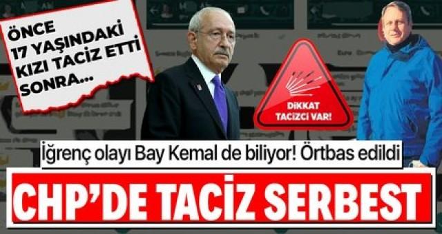 Kemal Kılıçdaroğlu 17 yaşındaki kız çocuğunu taciz eden CHP ilçe başkanı'nin hakkında gerekeni yapın talimatı verdi ama nasıl...