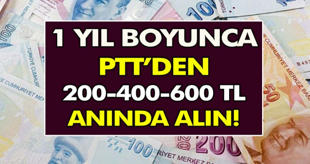 PTT 12 ay boyunca 600 TL ödeme yapacak! Anında alabilirsiniz, başvuru şartları açıklandı…