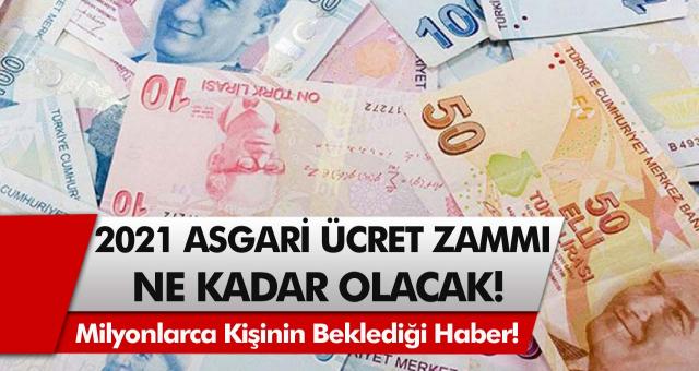 TÜİK açıkladı, milyonlarca kişi sevindi! Asgari ücret zammında beklenmedik gelişme… 2021 Asgari ücret ne kadar olacak?