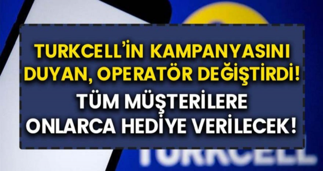 Turkcell bedava internet kampanyası