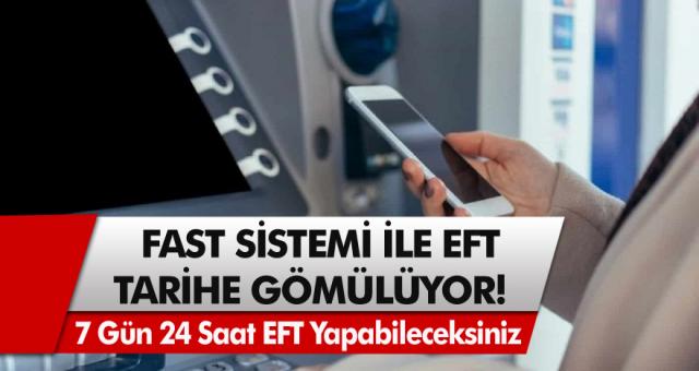 7 Gün 24 Saat boyunca para transferi yapılabilecek! Merkez Bankası duyurdu, Fast sistemi geliyor…