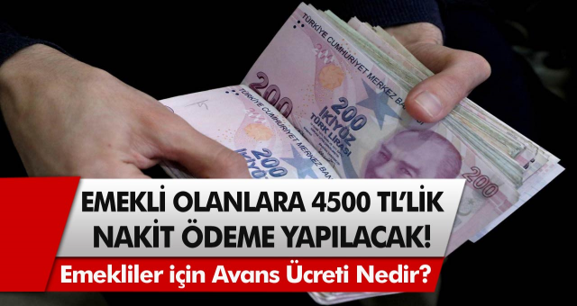 Emeklilere müjde! Tek seferlik binlerce lira ödeme yapılacak! Şubeye gitmeye gerek yok, direkt ATM'den çekilebilecek…
