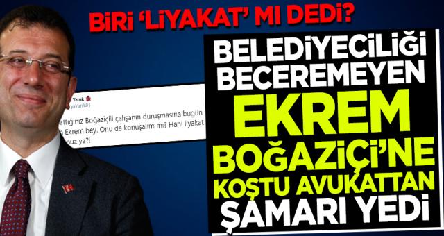 İBB Başkanı Ekrem İmamoğlu'nun 'Boğaziçi'nde liyakat' şovu patladı!