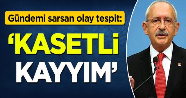 Emin Pazarcı'dan olay tespit: 'Kasetli Kayyım Kılıçdaroğlu'