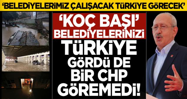 Kılıçdaroğlu: Belediyelerimiz koç başıdır! Onlar çalışacak Türkiye görecek