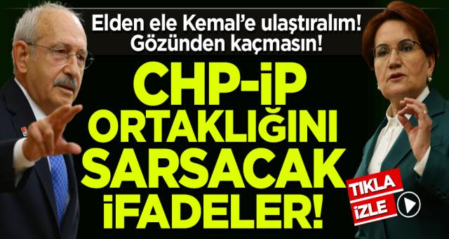 Yavuz Ağıralioğlu'ndan CHP-İP ortaklığını sarsacak ifadeler!