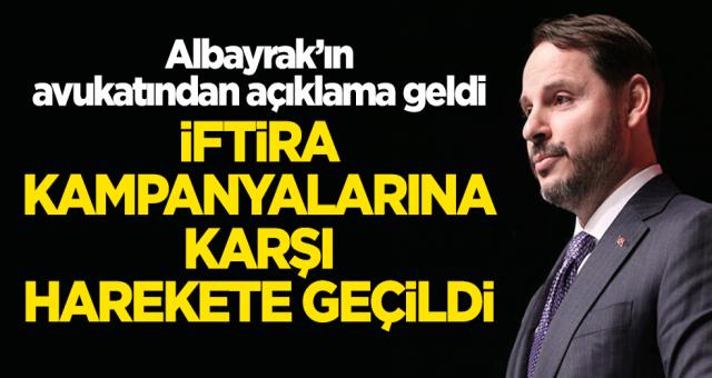 Berat Albayrak'ın avukatından açıklama: İftira kampanyasının hesabı sorulacak