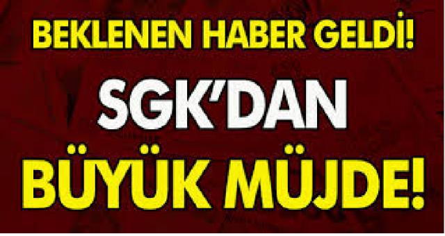 SGK tüm vatandaşlar için müjdeyi verdi! Tüm Borçlar silinecek