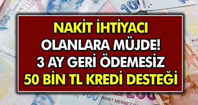 Vakıfbank, Halkbank ve Ziraat Bankası'ndan vatandaşlar için müjdeli haberler! 3 ay ertelemeli olarak 50 bin TL ye varan ihtiyaç kredisi geliyor…