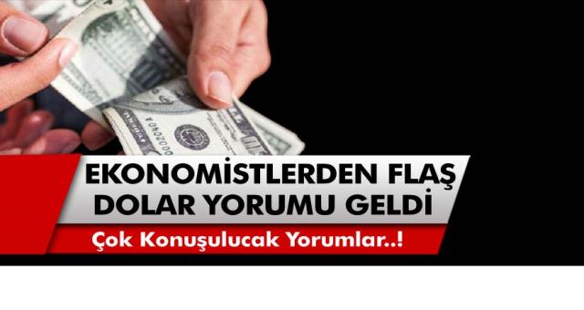 Ekonomist Mustafa Sönmez'den Çok Konuşulacak Dolar Yorumu Geldi..!