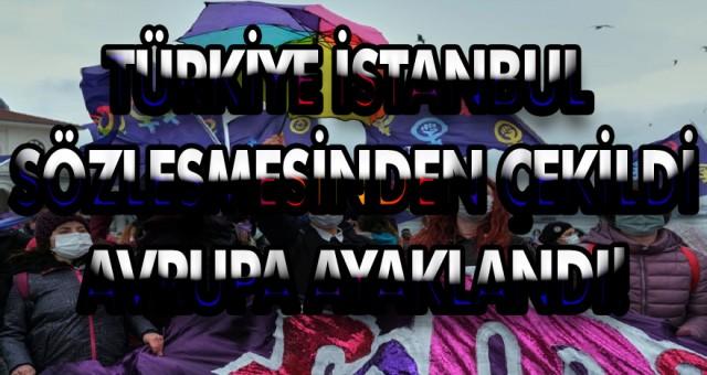 Dünya basınında Türkiye'nin İstanbul sözleşmesinden çekilmenin yankıları