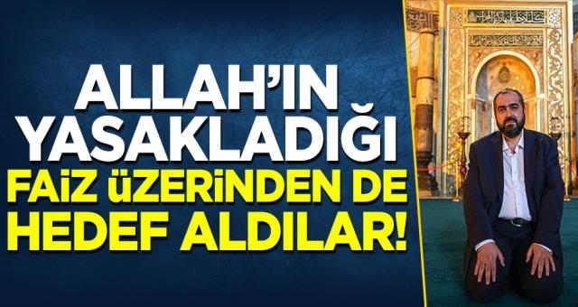 Ayasofya Camisi Baş İmamı Prof. Boynukalın'ı faiz üzerinden de hedef aldılar!