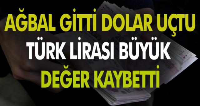 Erdoğan'ın merkez bankası başkanını görevden almasının ardından Türk lirası Büyük değer kaybetti.