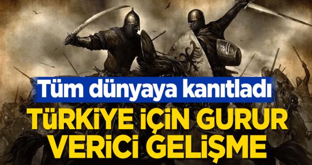 Türkiye için guru verici gelişme! Tüm dünyaya kanıtladı