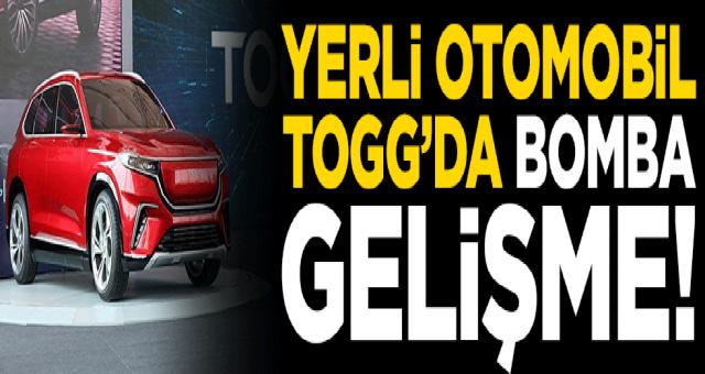 Türkiye'nin yerli otomobili TOGG'da yeni gelişme!