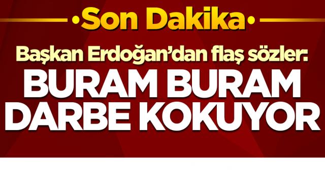 Başkan Erdoğan'dan flaş sözler