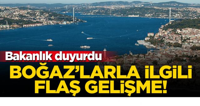 """Boğaz'dan geçişlere yeni kriter getirildi! """"Tehlikeli yük"""" yeniden tanımladı."""