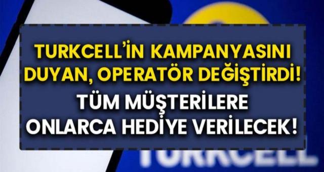 Turkcell yine müşterilerini güldürmeye devam ediyor! Operatör devleri böyle bir kampanya daha önce görmedi…