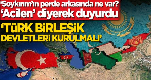 Türk devletleri ABD'nin soykırım çıkışını yüksek perdeden kınayarak Bütün Türk devletlerinin bir araya gelerek büyük türk birliği devletini acilen kurmamız lazım dediler.
