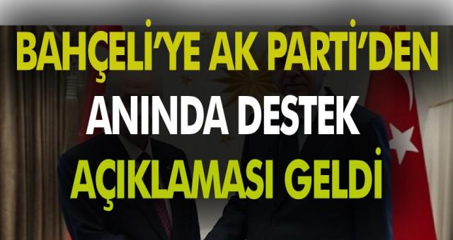 Devlet Bahçeli Yeni Anayasa Maddelerini açıkladı AK Parti tam destek verdi