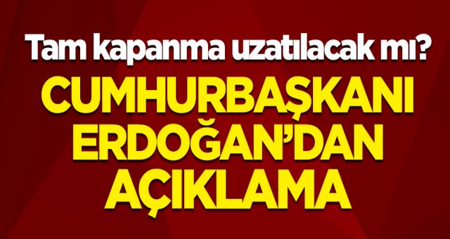 Süre uzatılacakmı 81 İlden gençlerle konuşan Cumhurbaşkanı Erdoğan açıkladı