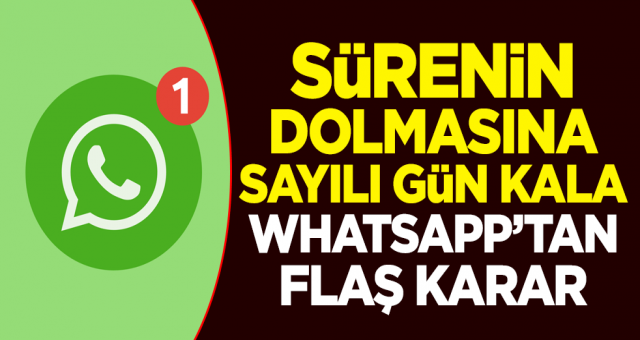 Whatsapp geri adım attı flaş kararın perde arkası