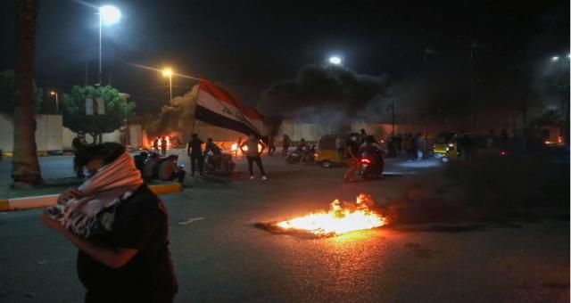Aktivistin öldürülmesi Irak'ın Kerbela bölgesinde protestoları tetikledi