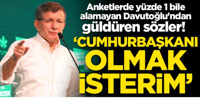 Ahmet Davutoğlu Cumhurbaşkanı olacakmış