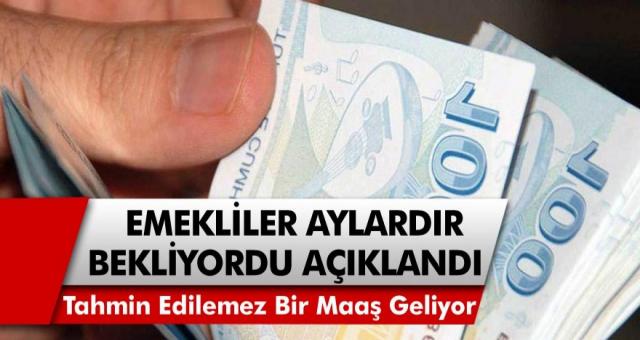 Temmuz ayında emekli maaşlarına gelecek zam oranı! Zam oranları netlik kazanmaya başladı…