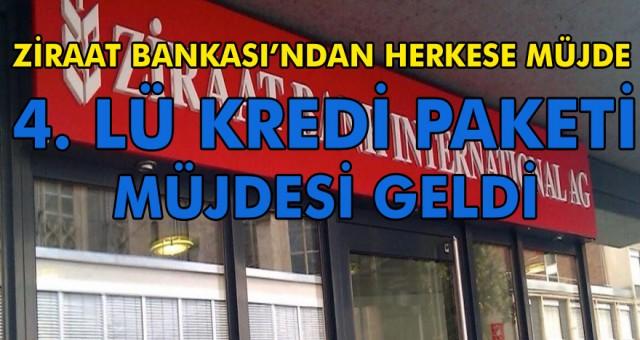 Emekli, çalışan ev hanımlarına müjde Ziraat Bankasından geldi 4 li kredi paketi açıklandı