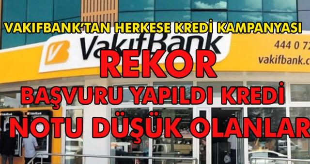 Kara listeye düşme korkusuna son veren kampanya Vakıfbank'tan geldi