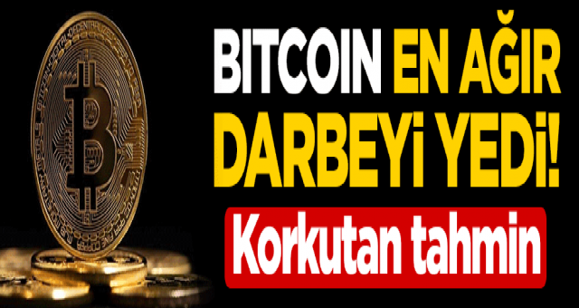 Bitcoin 20 bin Dolara kadar düşecek