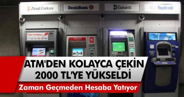 Emekliler 2 bin TL oldu! Ziraat Bankası, Halkbank ve TEB bankalarından başvuranlara anında hesaba yatırılıyor…