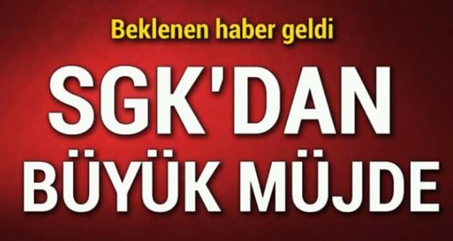SGK'dan Beklenen Haber Geldi! SGK'dan Erken Emeklilik Müjdesi Geldi...