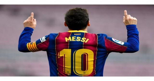 Barcelona sözleşmesi sona erdiği için Messi'nin geleceği belirsiz