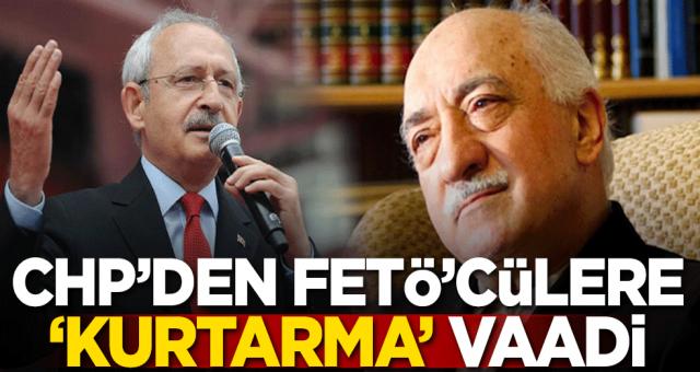 CHP'den bir skandal daha geldi! Feto ve PKK orgutlerine kurtarma vaat ettiler