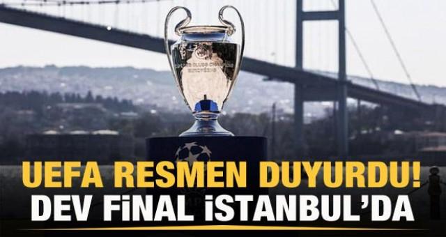 UEFA Türkiye'den özür diledi Dev finali bize verdi