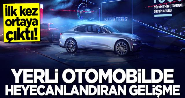 Türkiye'nin otomoli togg paylaşım yaptı heyecan yavan yappyi