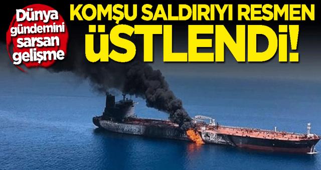 İran İsrail gemisini vurdu Dünya alarma gecti