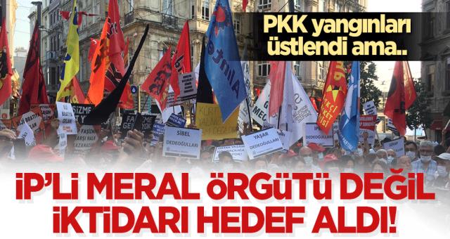 PKK ormanları yakıyor Meral ebla hükümete saydiriyor