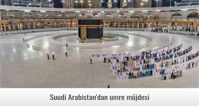 Suudi Arabistan'dan umre müjdesi