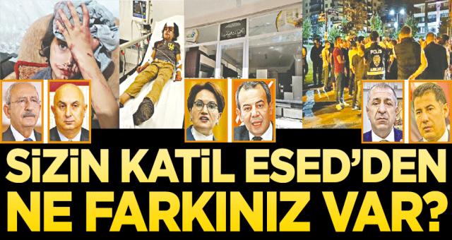 Günün sorusu şu: CHP'nin Katil esed'ten ne farkı var